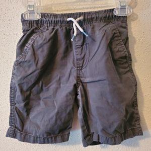 Boys XS (4 - 5) Gray Drawstring Shorts